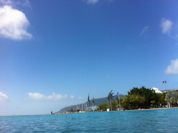 Die Lagoon in Cairns =)