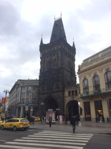 Der Pulverturm am Platz der Republik