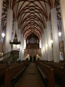 Die Thomaskirche von Innen